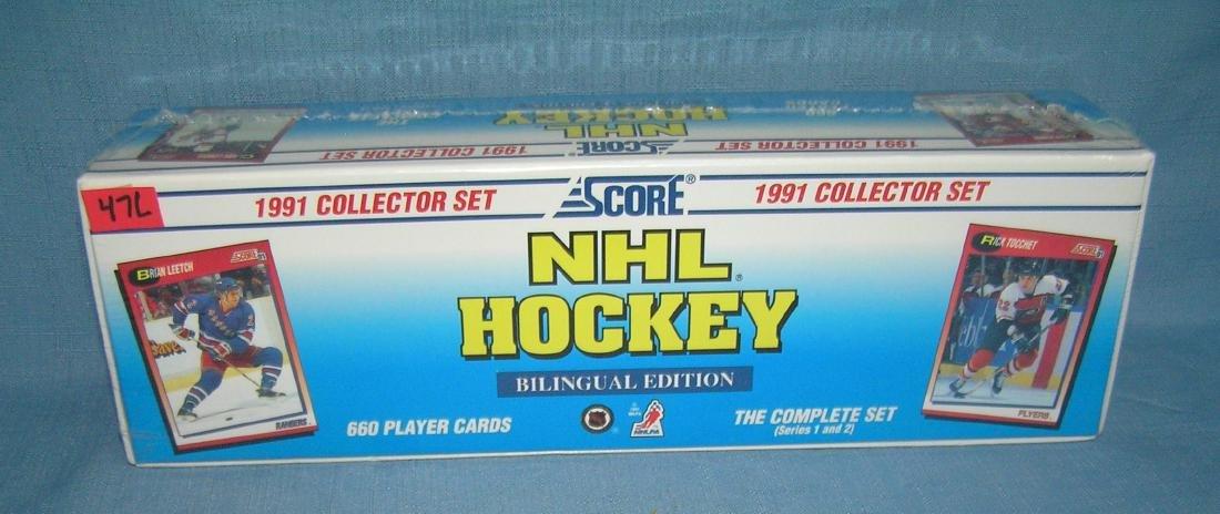 1991 Score NHL hockey factory sealed card set