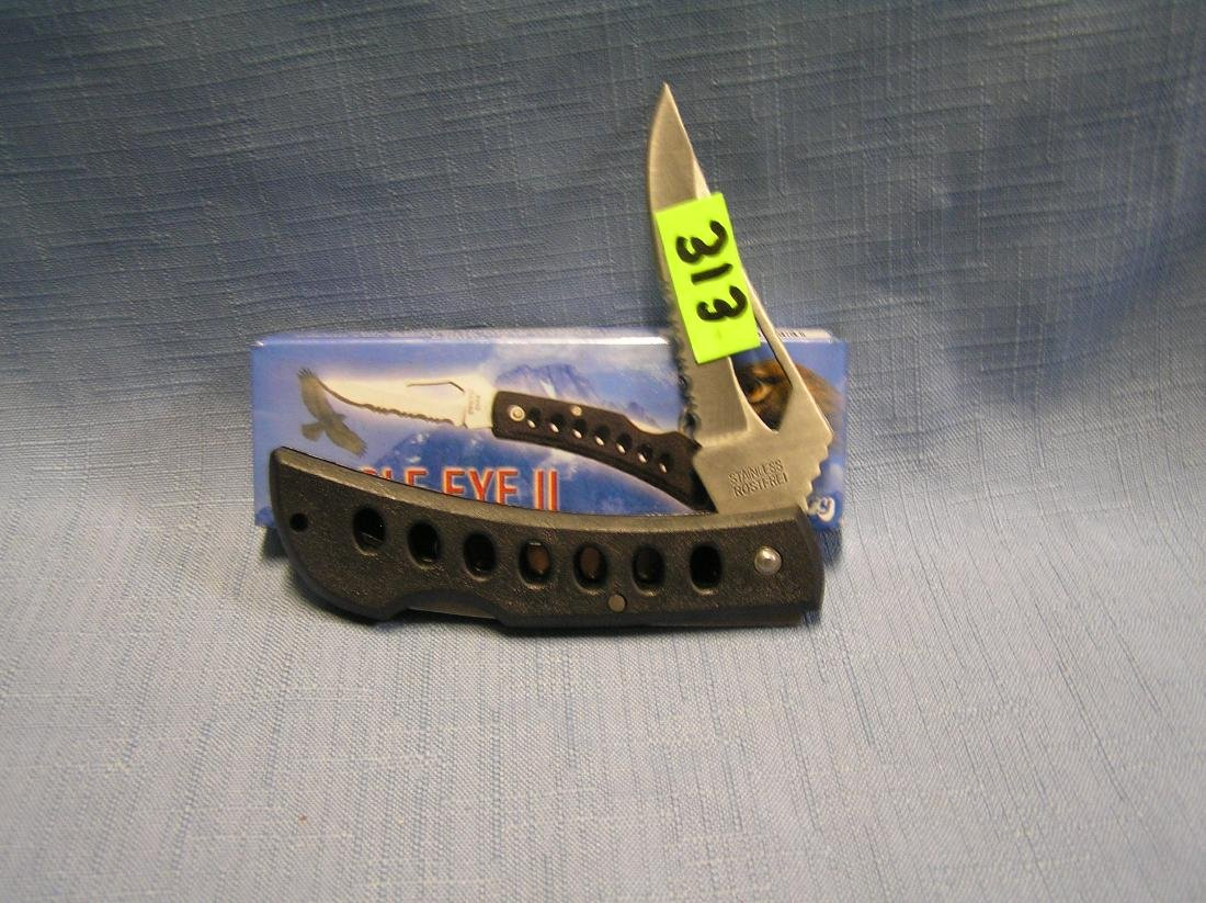 Eagle eye pocket knife with original box