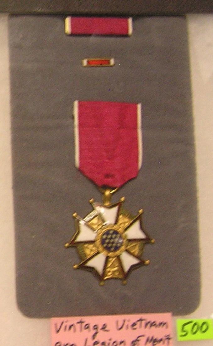 Vintage Vietnam era legion of merit medal