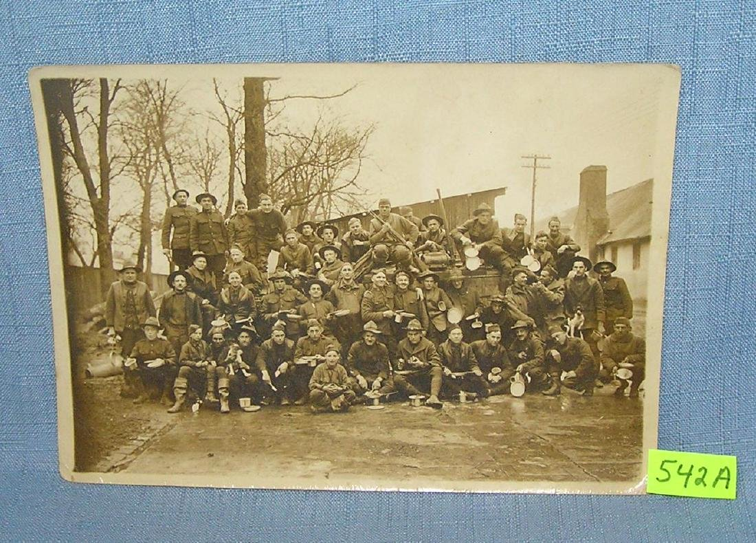 Early WWI soldier's photograph