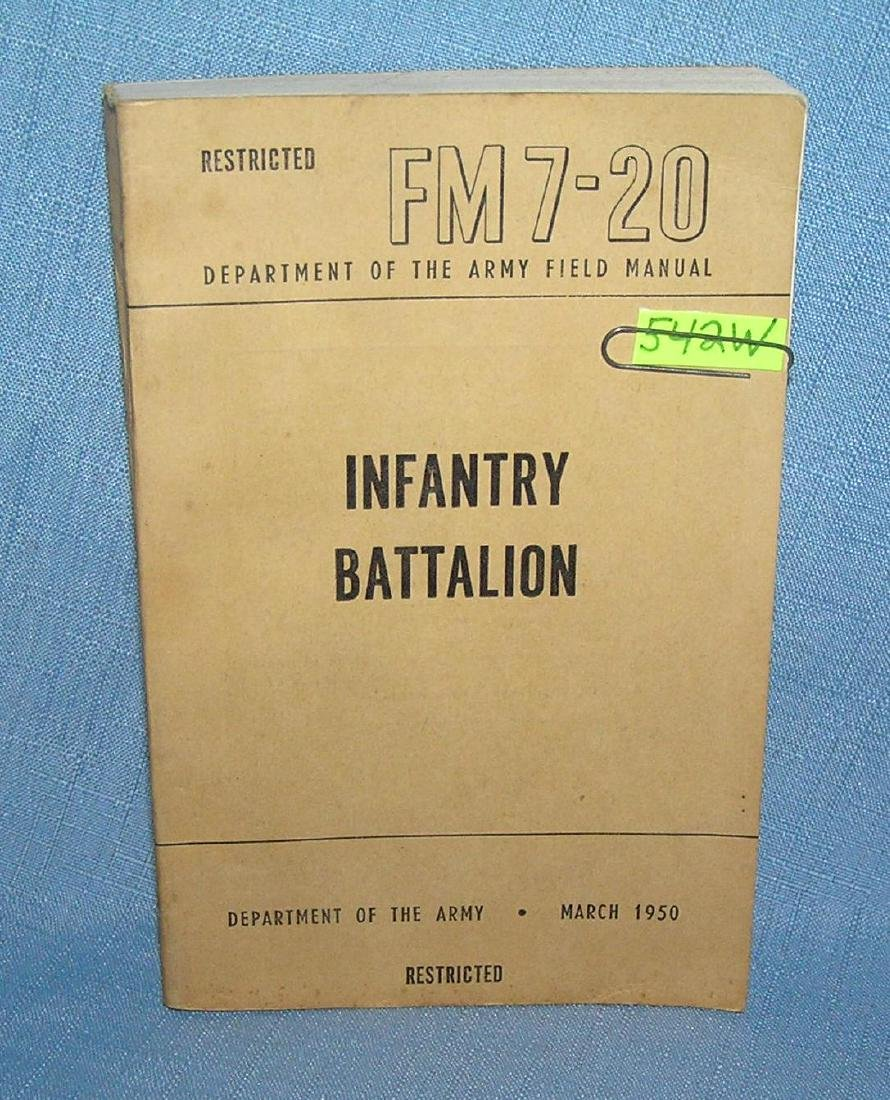 Infantry Battalion Dept. of the Army field manuel