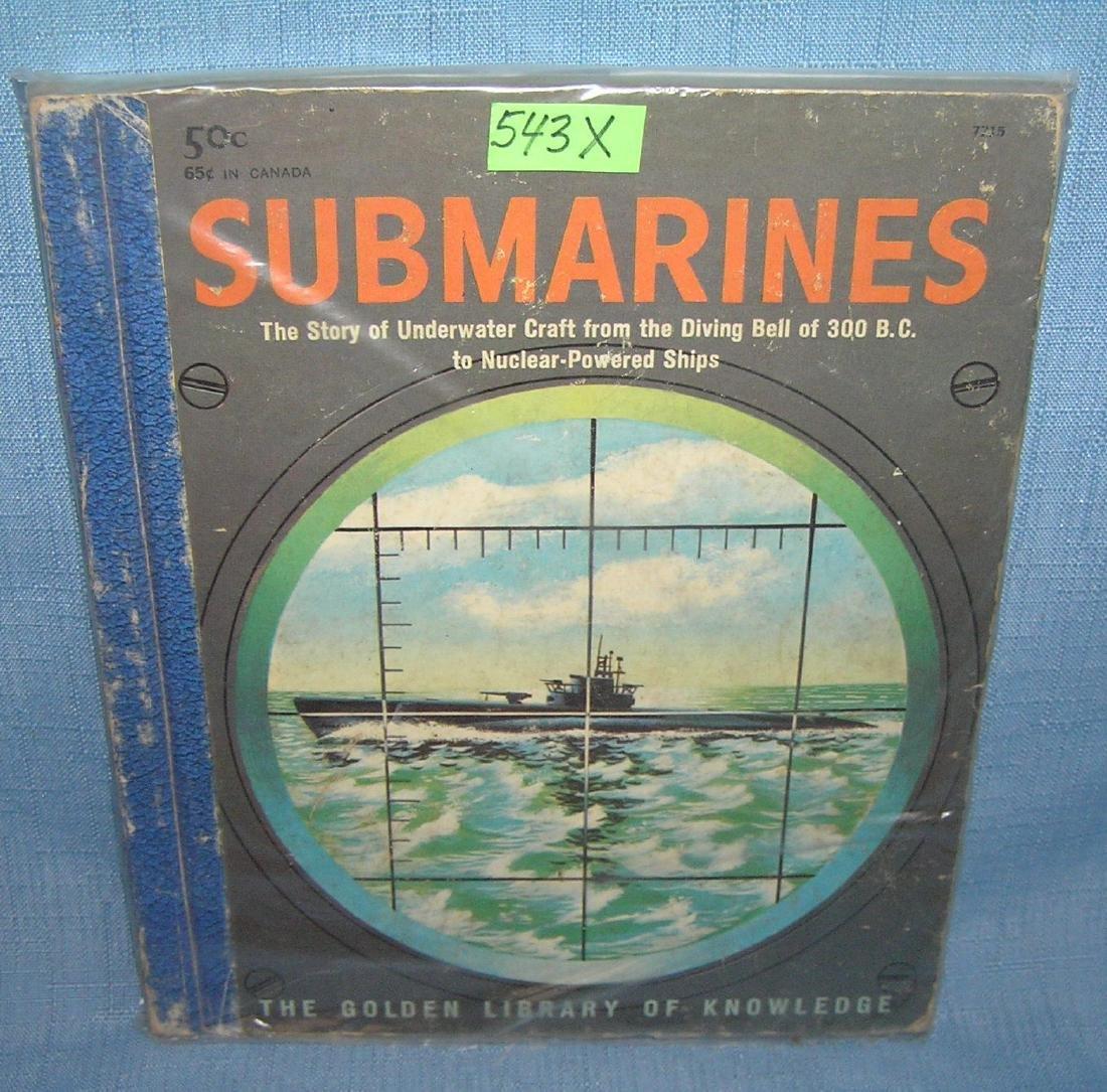 Submarines the story of underwater craft