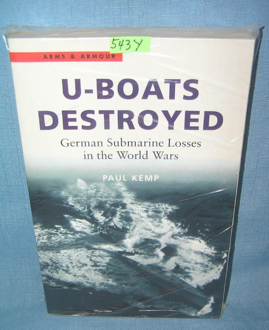 U Boats: Destroyed German Submarine losses