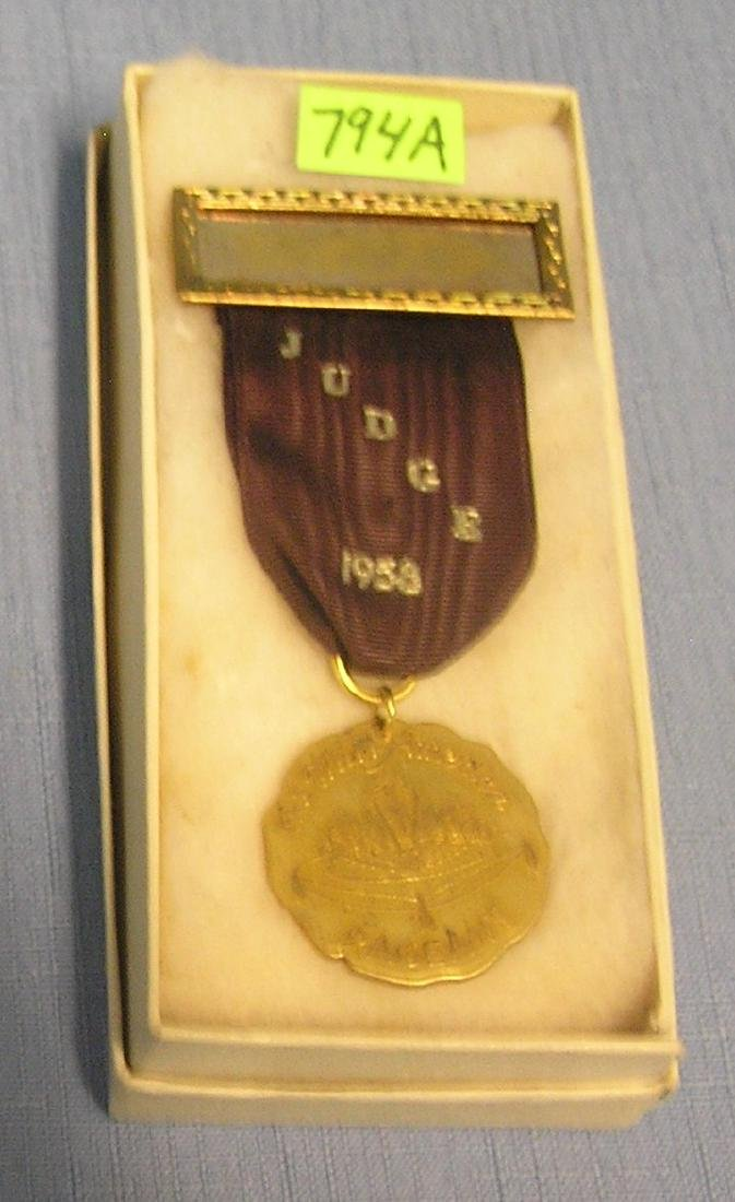 1958 Miss America Pageant judges award