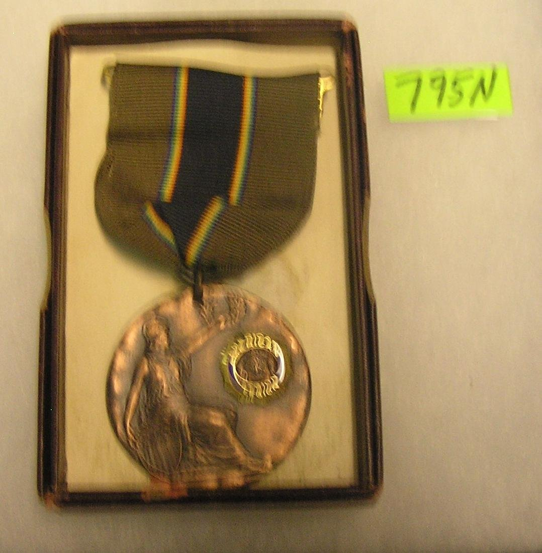 American legion medal and ribbon group