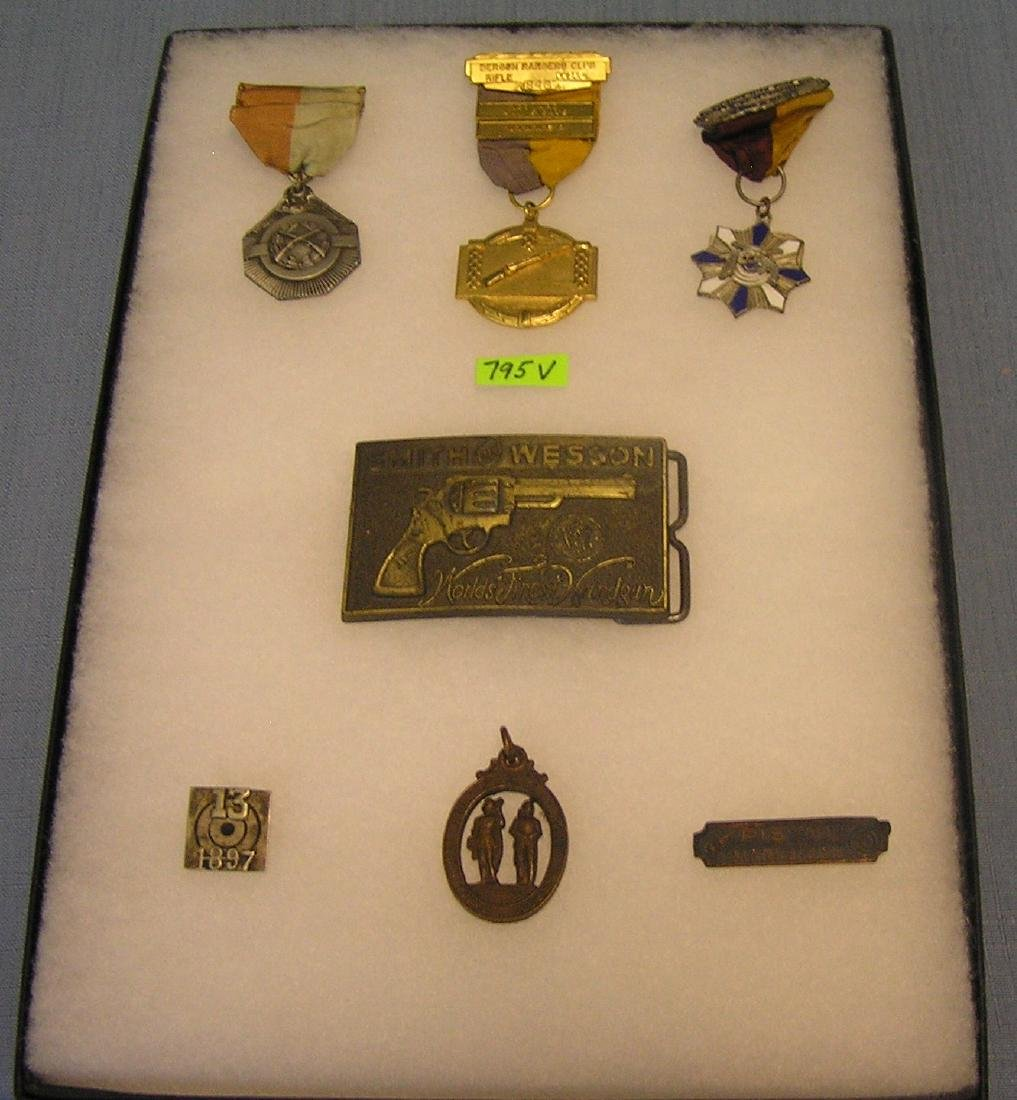 Group of early hunting and shooting awards