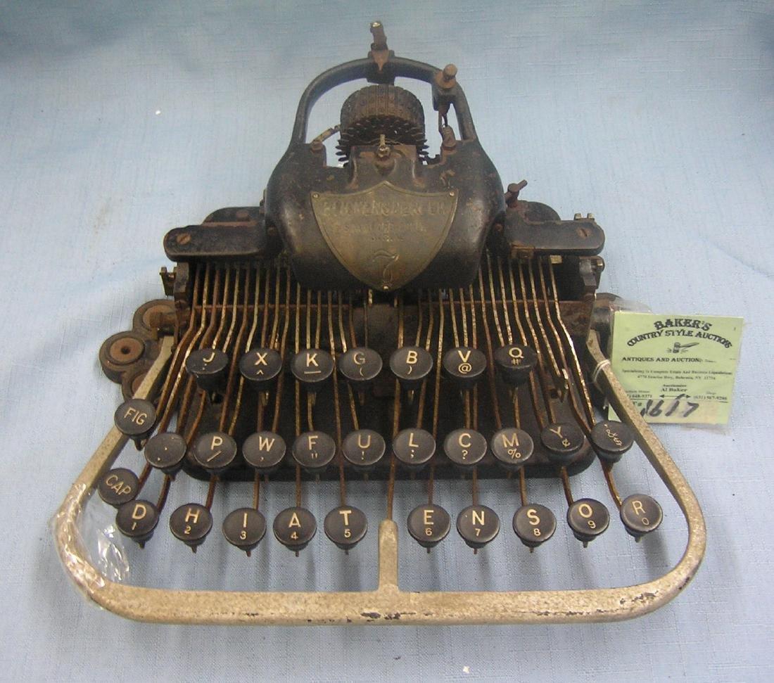 Antique Blickensderfer typewriter