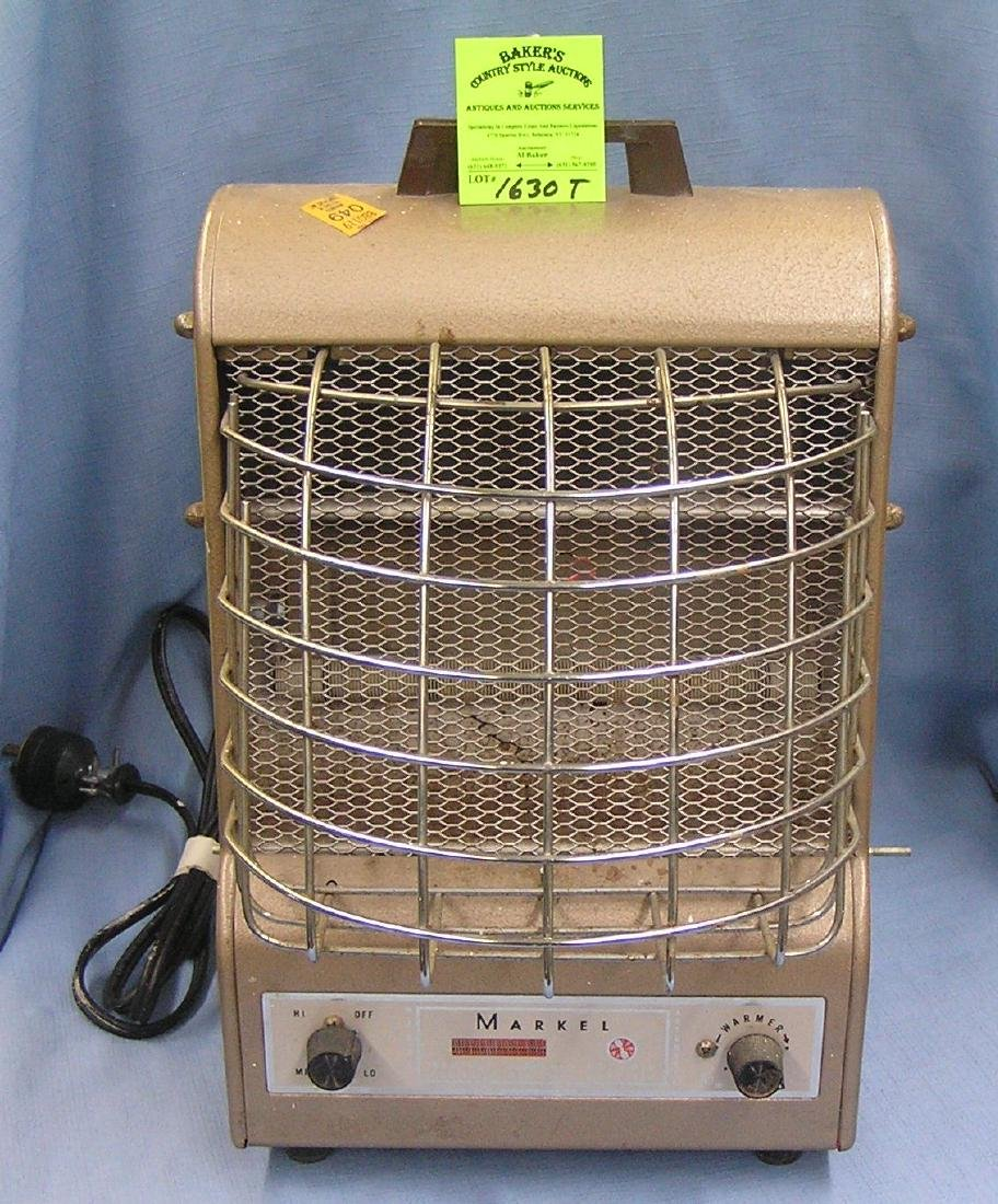 Vintage Markel electric space heater