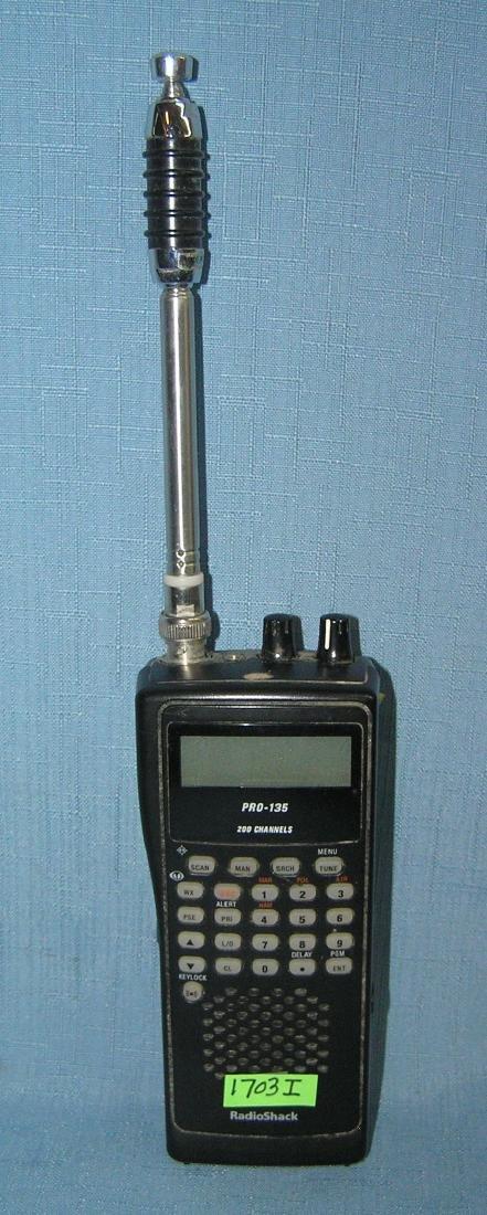Radio Shack PRO-135 200 channel radio scanner