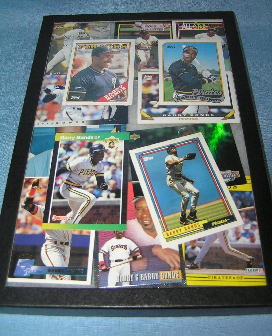 Group of vintage Barry Bonds all star baseball cards