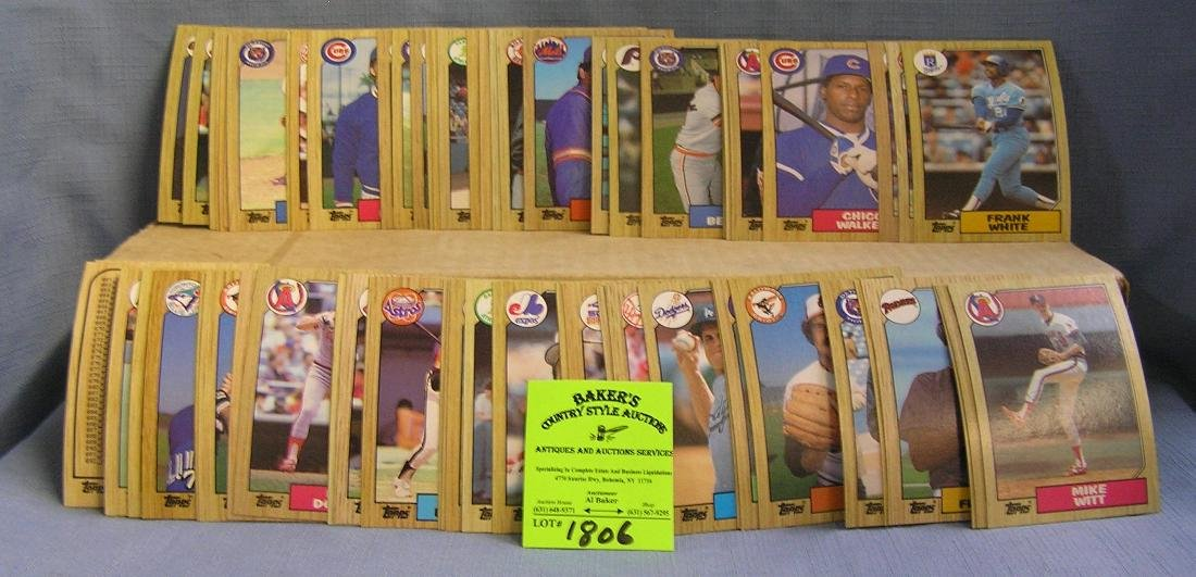 Topps baseball card set
