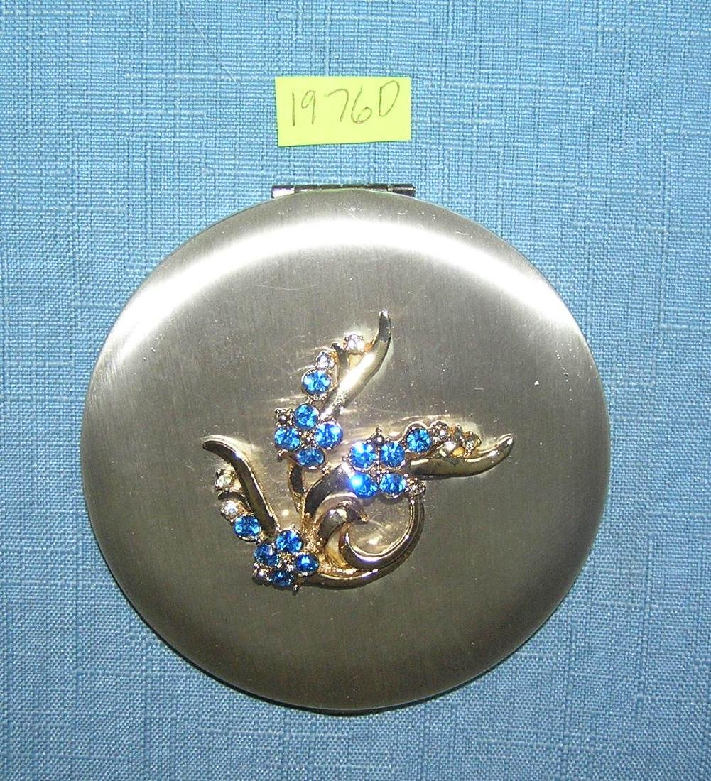Great early decorated makeup compact by Zell