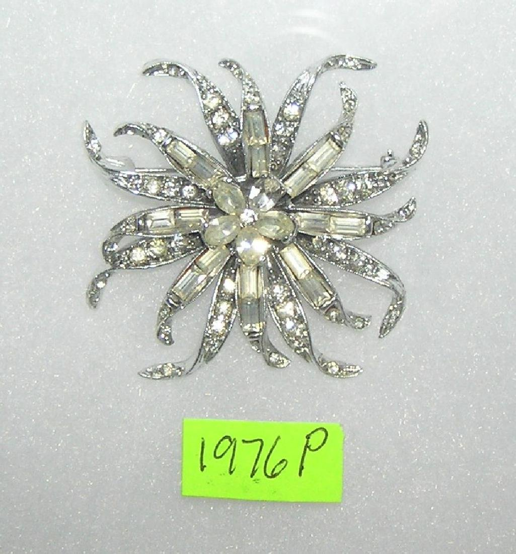 1940's decorative pin signed Pell