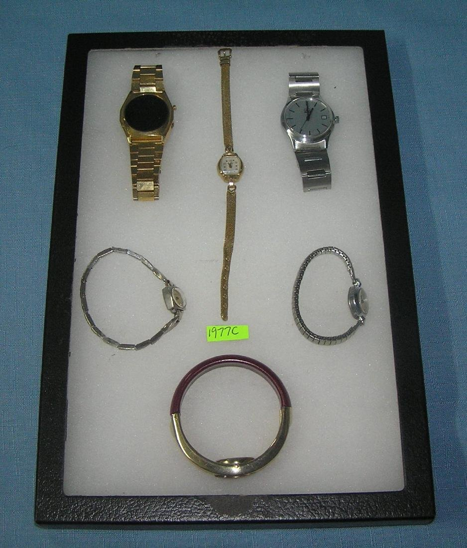Collection of vintage wrist watches