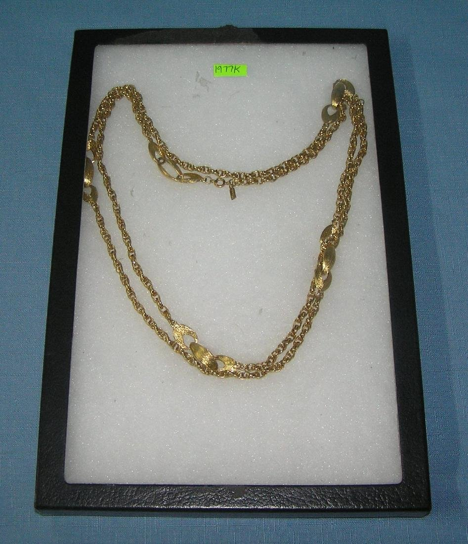 Vintage 1950's Monet necklace