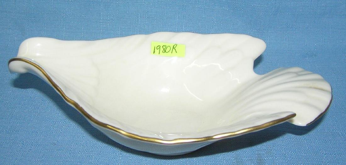 Lenox bird shaped gravy boat/pouring bowl