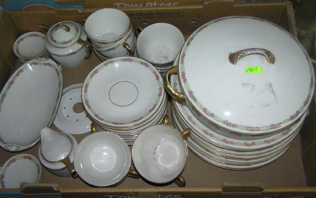 72 piece dinnerware set by Weimar of Germany