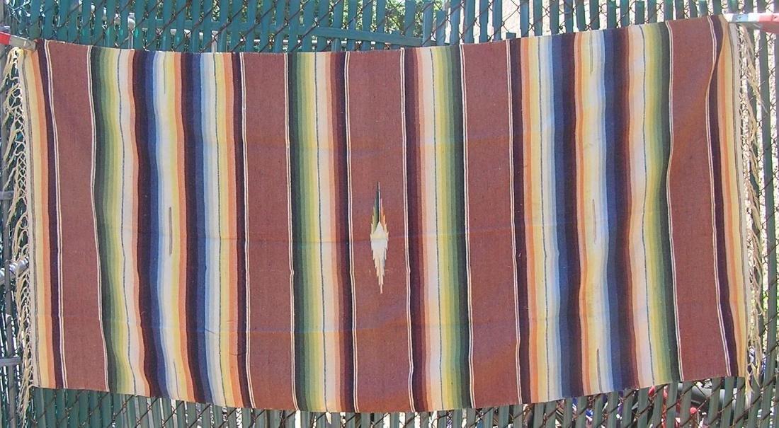 Mid western or American Indian tasseled blanket
