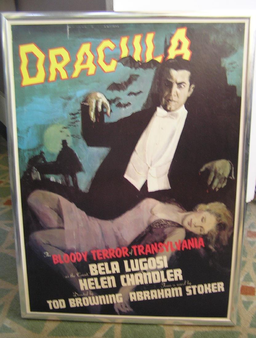 Dracula movie poster featuring Bela Lugosi