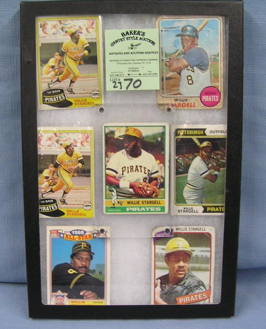 Vintage Willie Stargell baseball cards