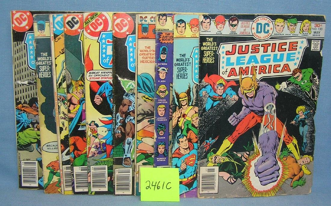 DC comics Justice League America