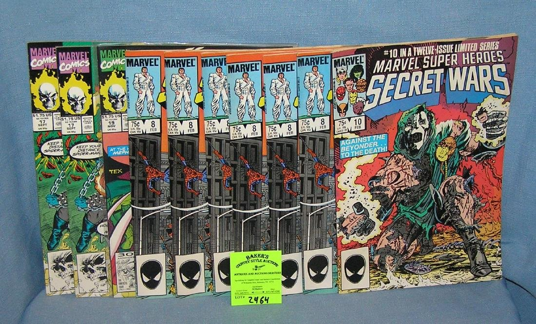 Secret Wars and Ghost Rider comic books