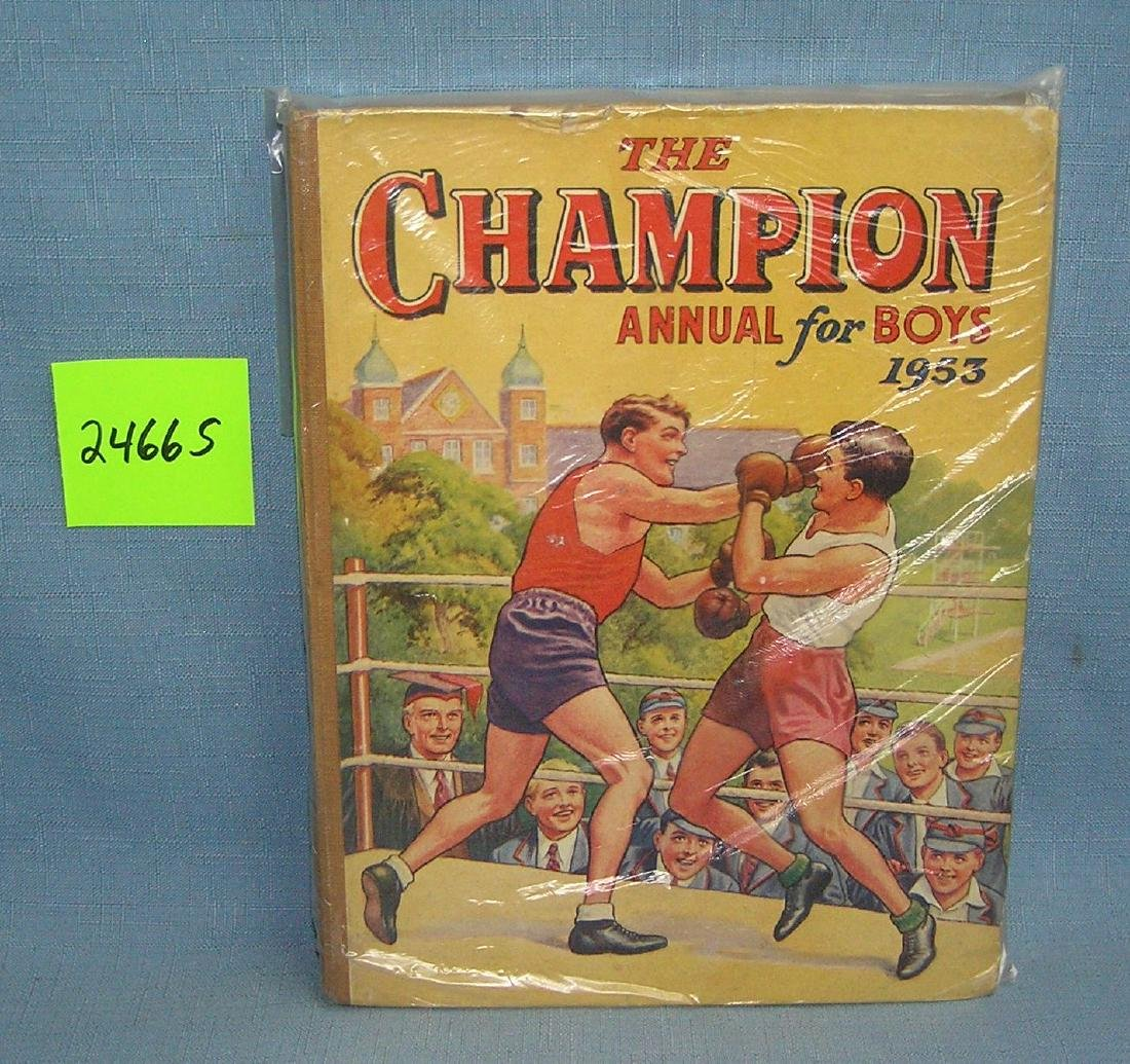 The Champions annual book for boys 1953