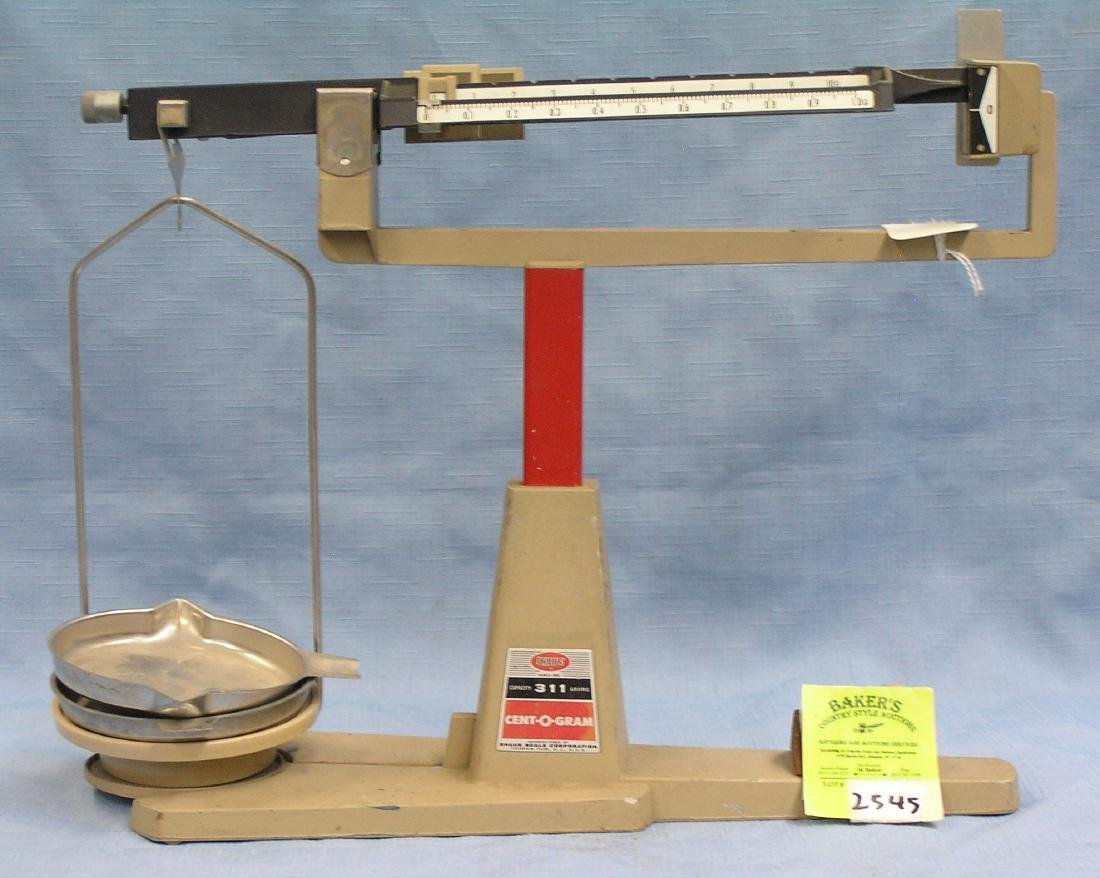 Vintage Ohaus 311 gram scale