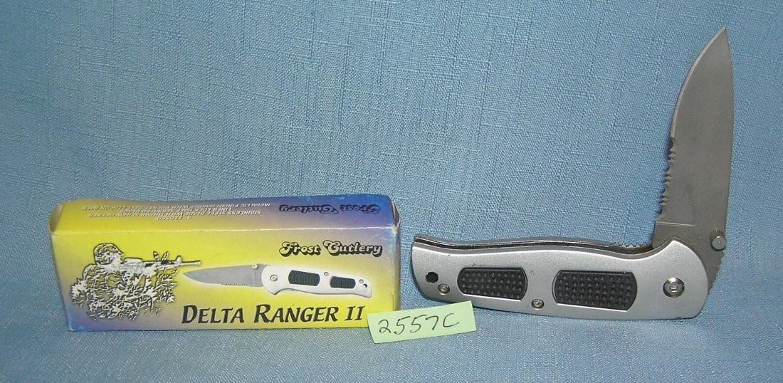 Delta ranger II folding pocket knife