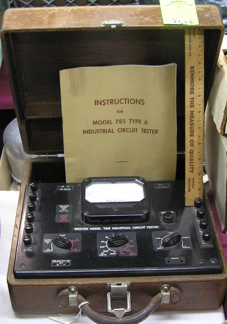 Antique western circuit tester all Bakelite