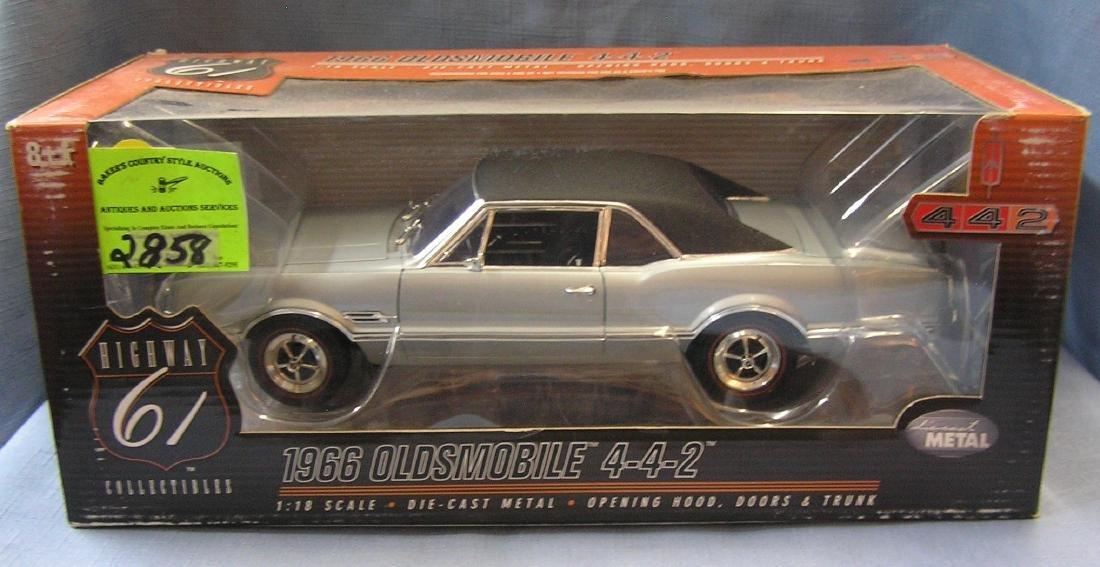 Vintage 1966 Oldsmobile American muscle car