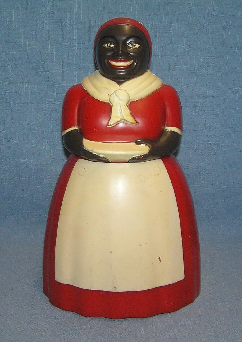 Aunt Jemima figural cookie jar