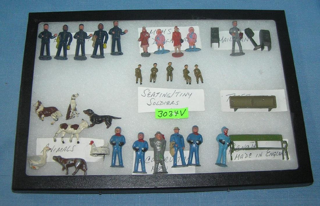 Collection of hand painted lead figures