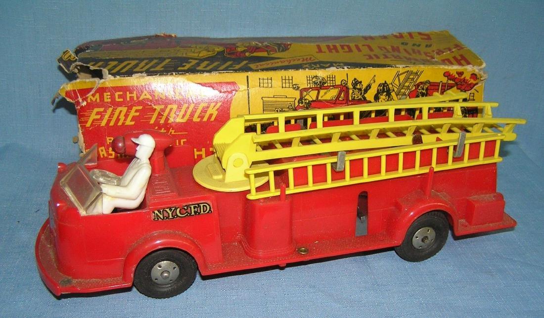 Vintage Luis Marx mechanical fire truck