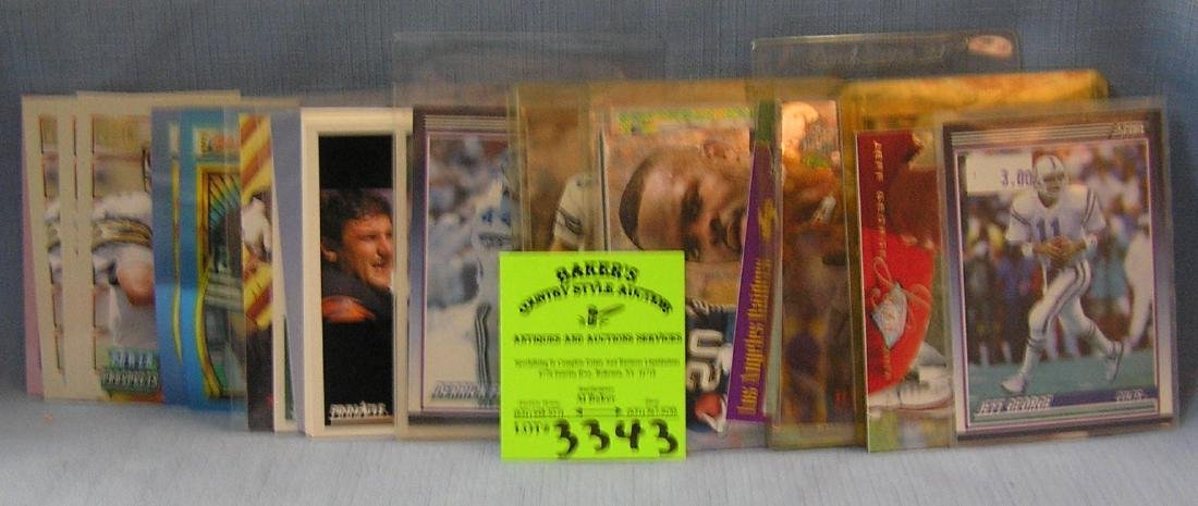 vintage all star football cards including rookies