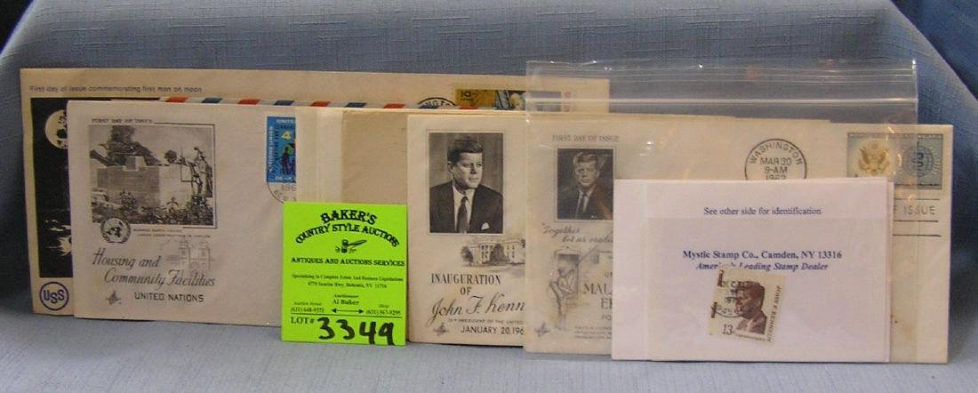 Collection of vintage stamps and covers