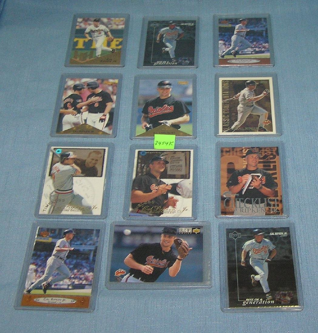 Collection of vint. Cal Ripken Jr. Baseball cards