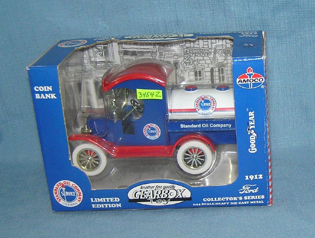 Amoco 1912 Ford tanker truck bank