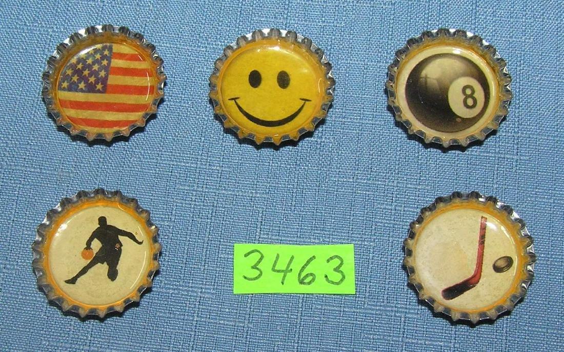 Vintage bottle cap promotional magnets
