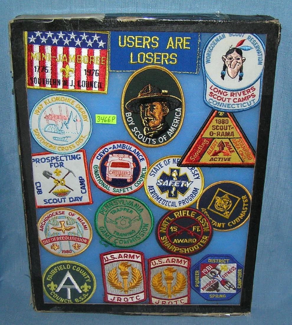 Vintage Boy Scout patches and more