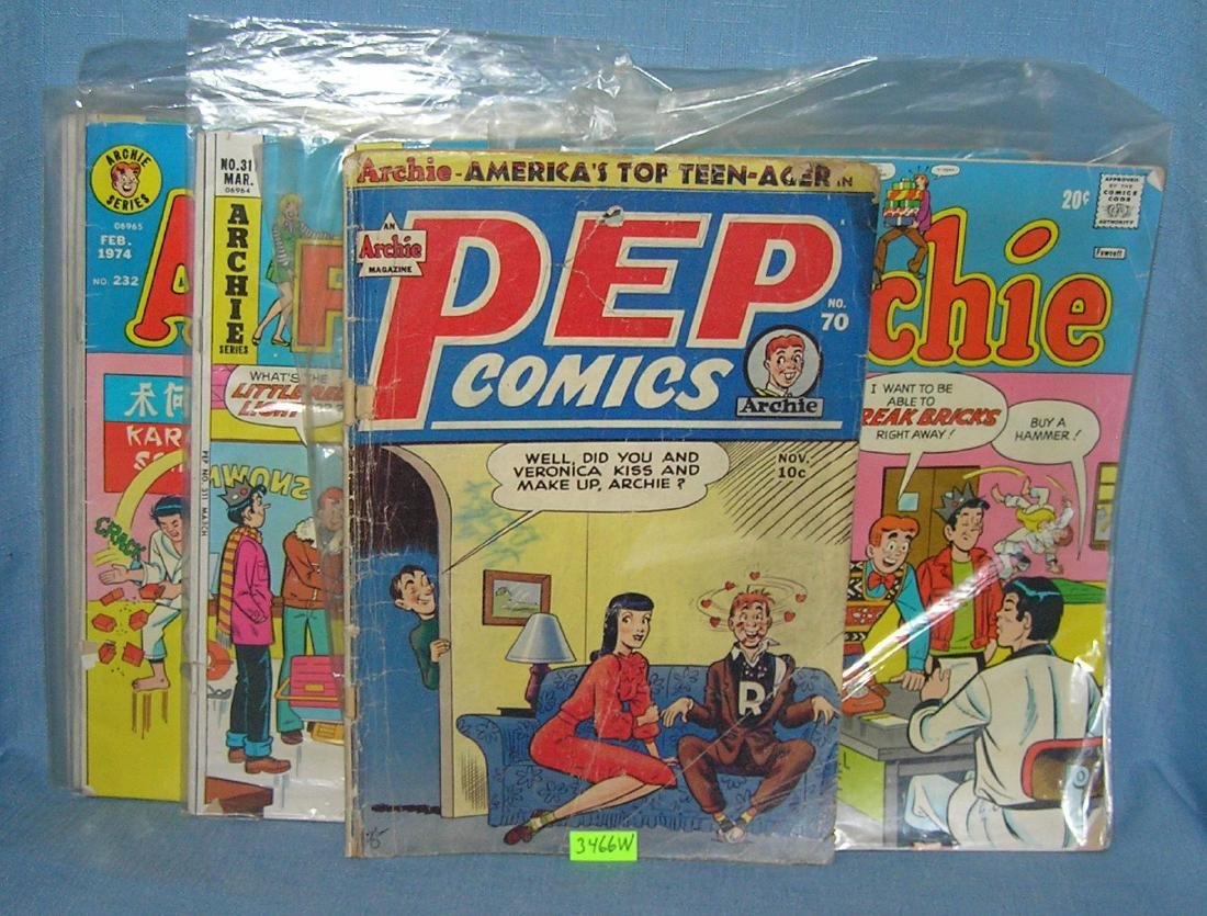 Nice group of early comic books