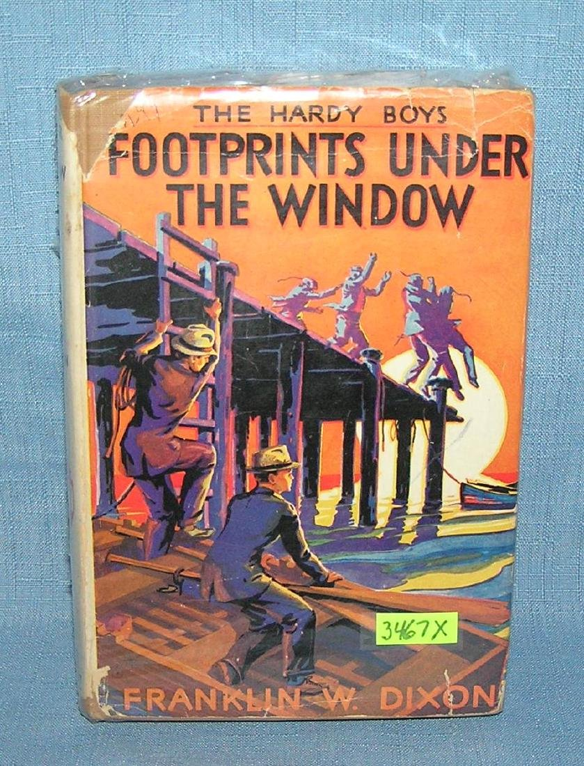 The Hardy Boys Footprints Under the Window