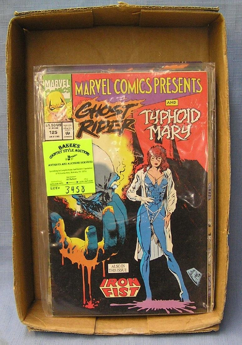 Marvel Ghost Rider super hero comic books