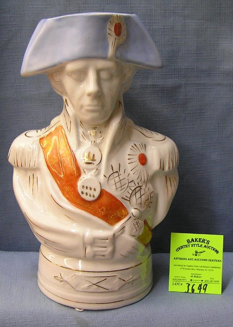 Vintage Revolutionary War solider bank