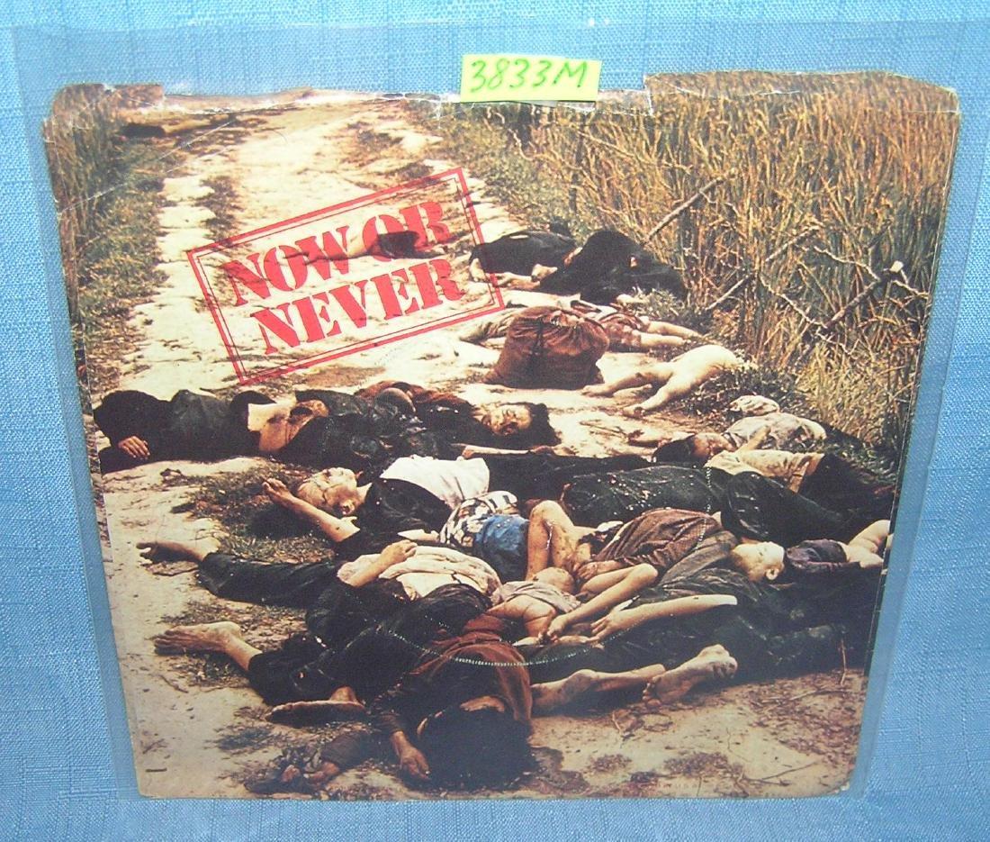 Yoko Ono and the Plastic Ono band vintage 45 RPM record