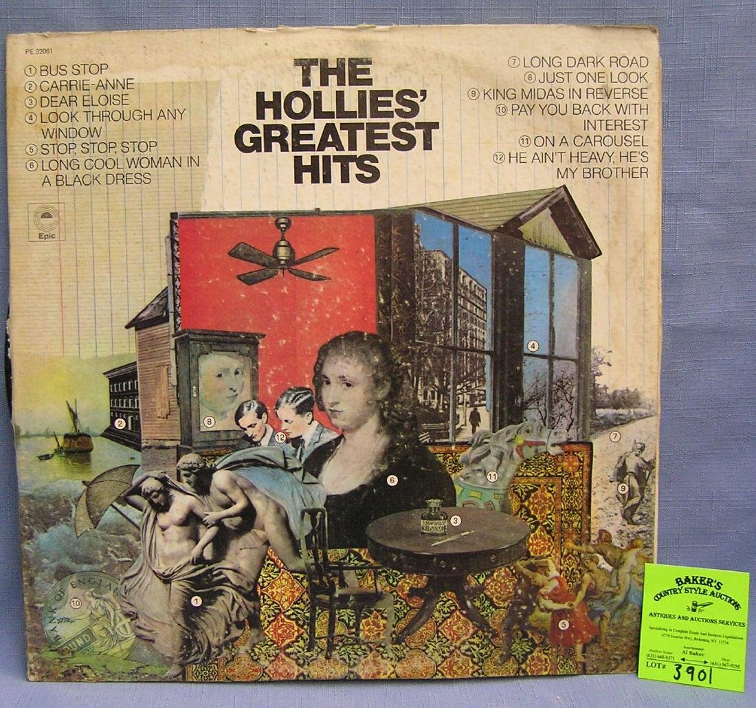 The Holly's Greatest Hits vintage record album