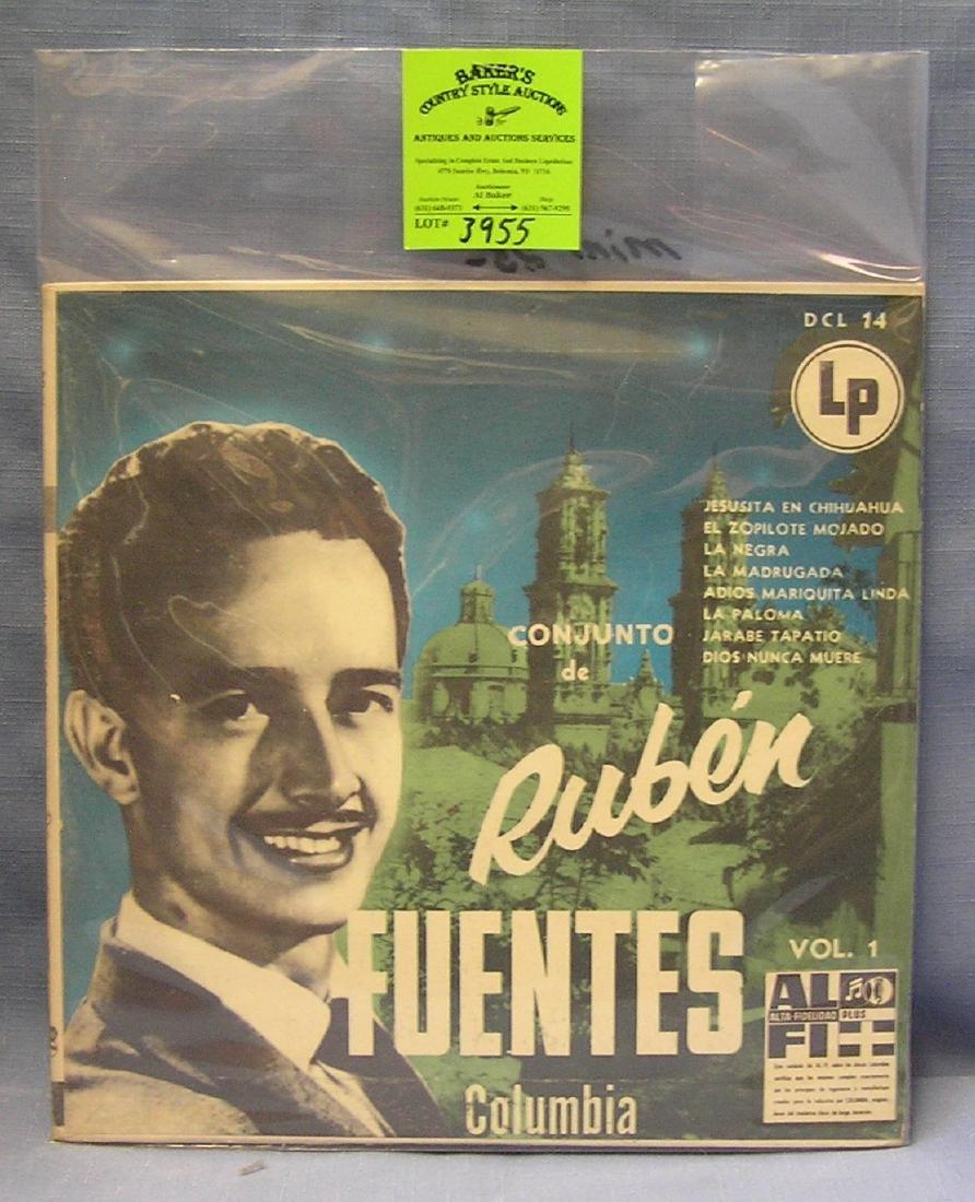 Vintage Rueben Fuentes record album