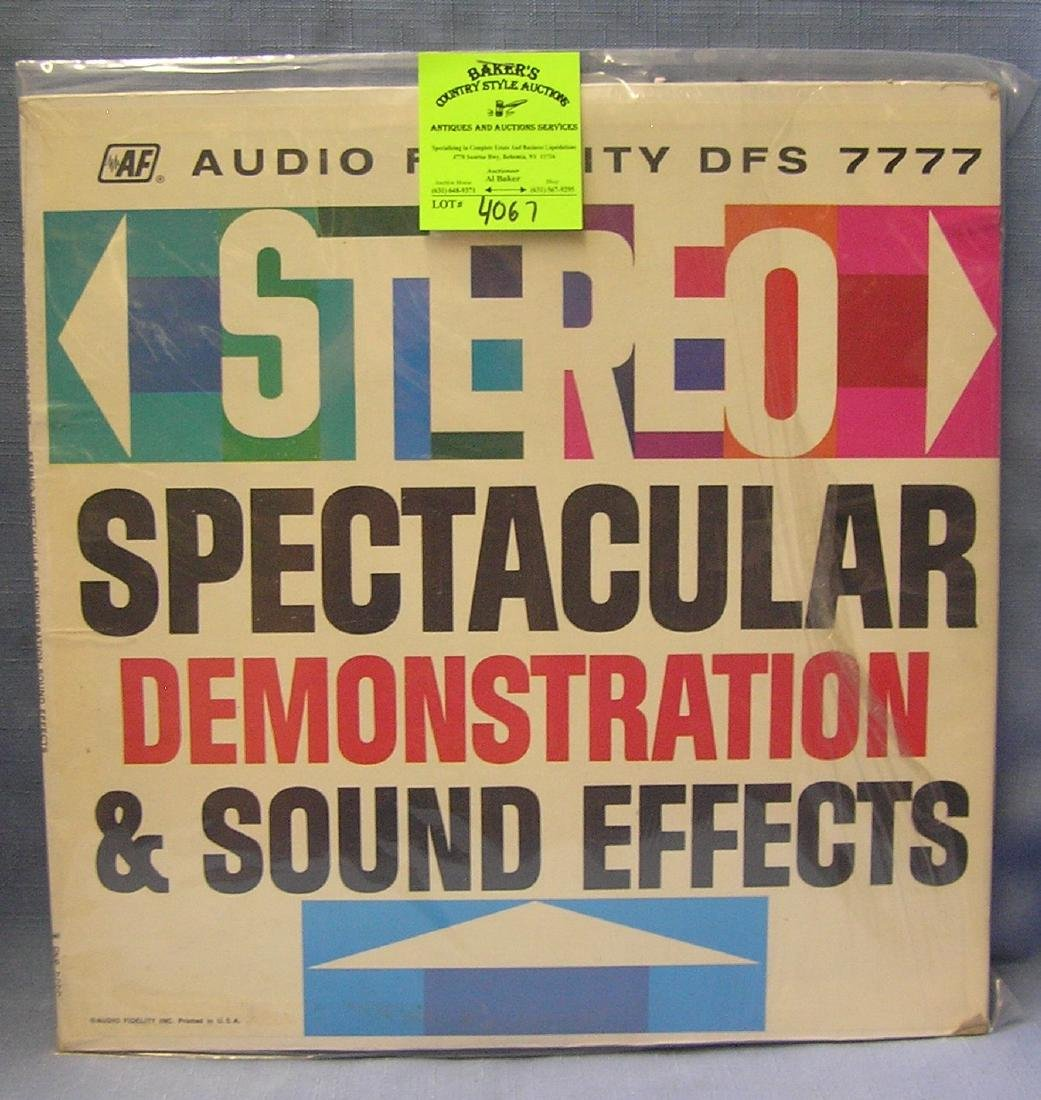 Spectacular Demonstration And Sound Effects record
