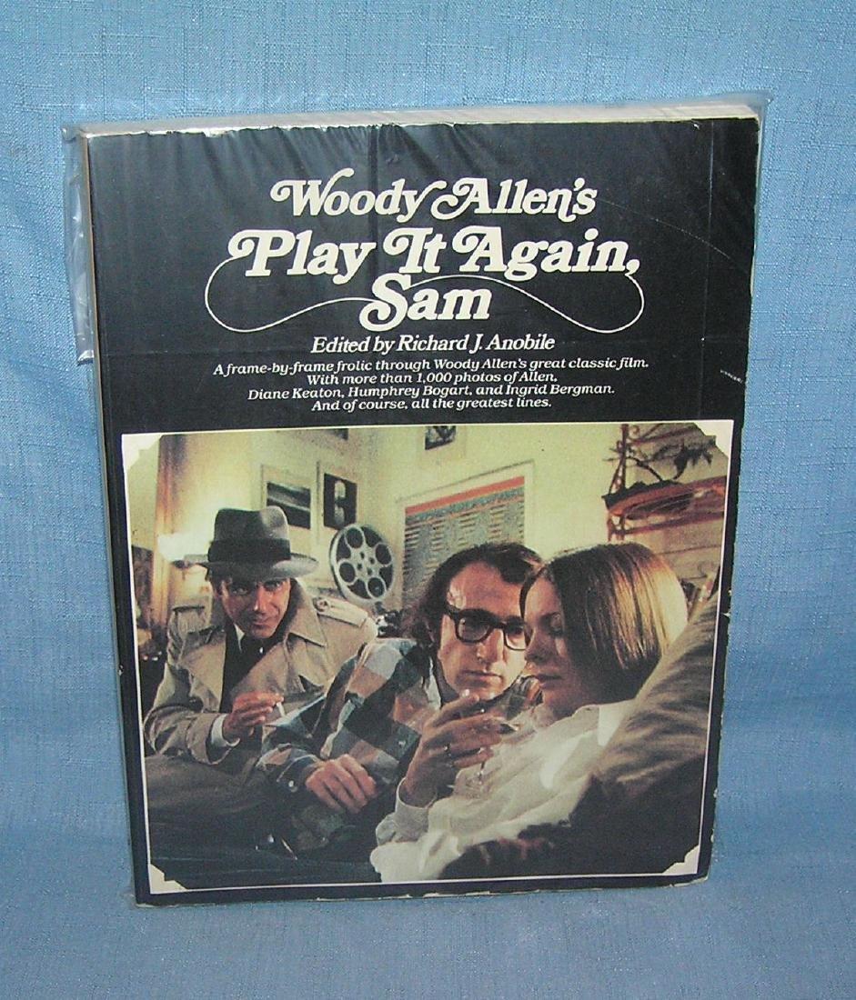 """Vintage Woody Allen """"Play it Again Sam"""" film book"""
