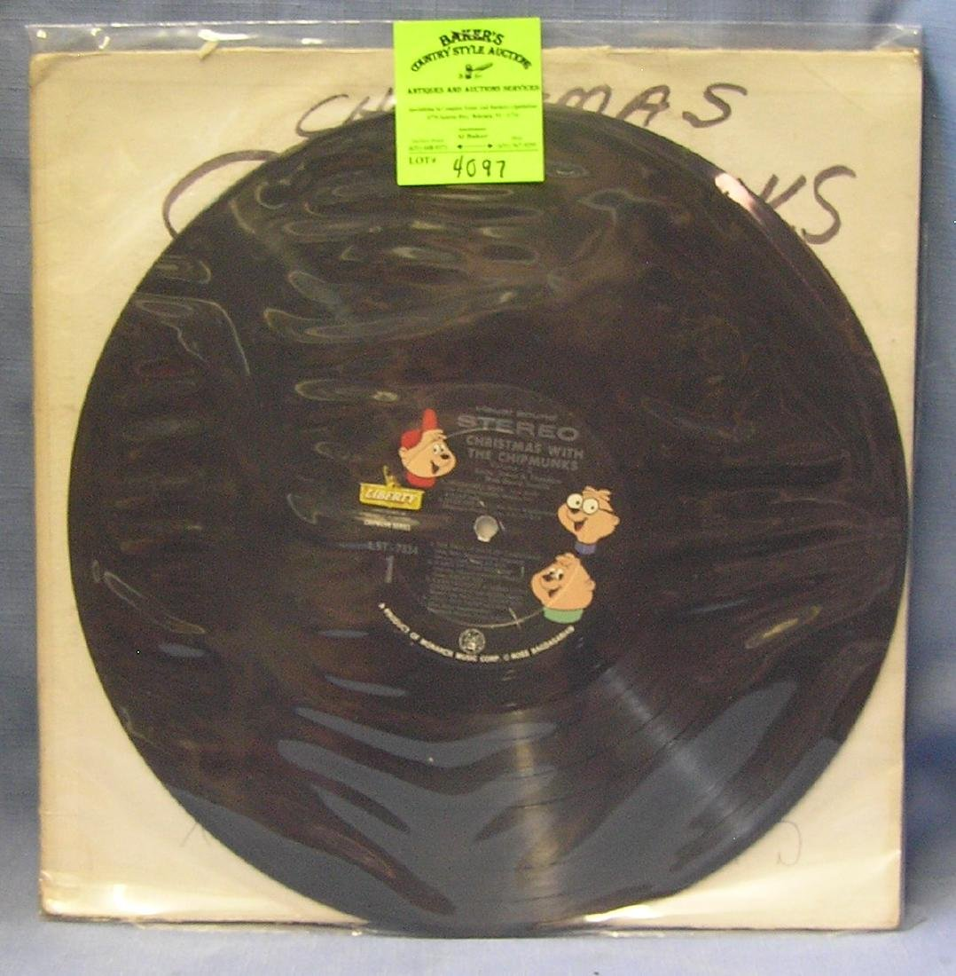 Vintage Christmas With The Chipmunks record album